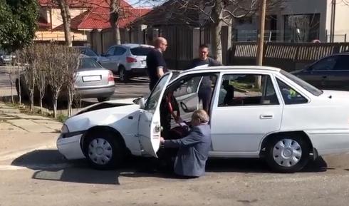 Foto: VIDEO VIRAL / Accident rutier PRODUS DE UN ŞOFER BEAT MANGĂ, la Constanţa