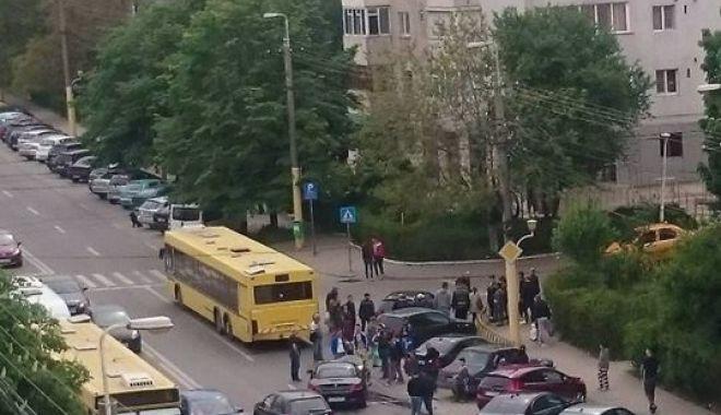 Foto: Accidente rutiere şi trafic îngreunat, la Constanţa / RATC ia măsuri!