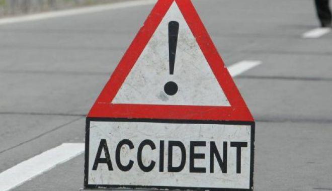 Foto: Accident rutier la Constanţa, din cauza unui şofer băut