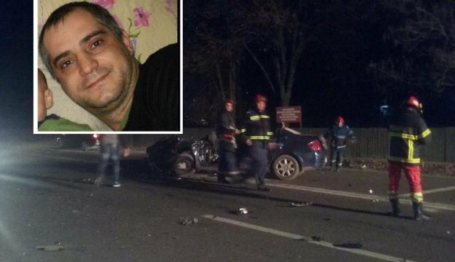 Foto: Cum s-a petrecut accidentul mortal de la Valu. Un jandarm constănţean, decedat