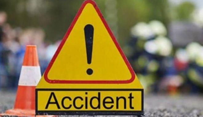 Foto: Accident grav. Şase maşini au fost implicate
