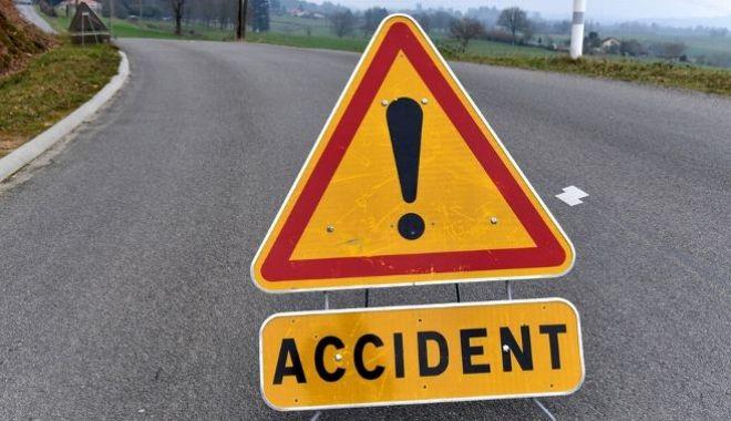 Foto: Accident rutier în Corbu. O victimă