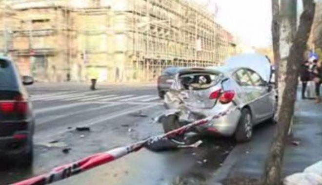 Foto: ŞOFER MORT PE LOC, în urma unui cumplit accident rutier