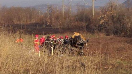 Foto: Accident cumplit. O femeie a fost decapitată