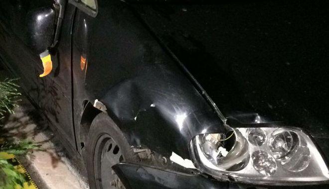 Foto: Accident rutier grav noaptea trecută între Costineşti şi 23 August. Un bărbat decedat