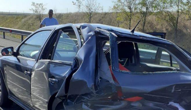 ACCIDENT GRAV, pe Autostrada Soarelui, spre litoral! 9 victime au ajuns la spital! - acca2-1594275881.jpg