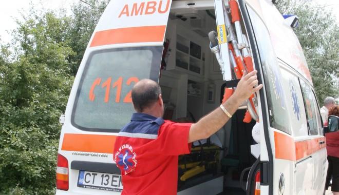 Foto: Accident rutier între Tortomanu şi Medgidia