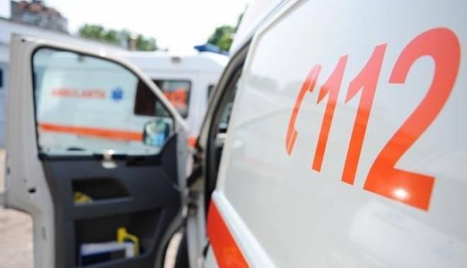 Foto: Accident rutier la Constan�a, soldat cu o victim�