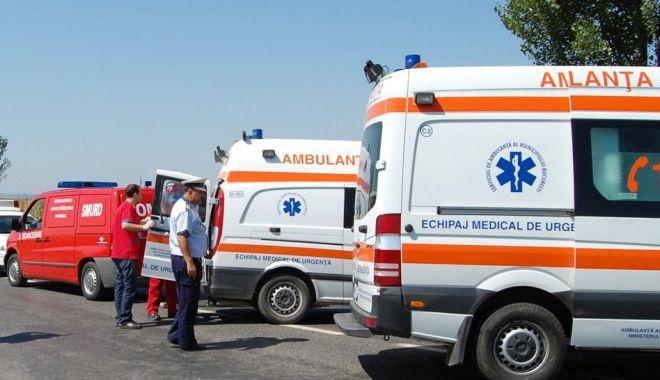 Foto: GRAV accident rutier, la ieşire din Constanţa! Sunt patru victime! Intervin ambulanţele
