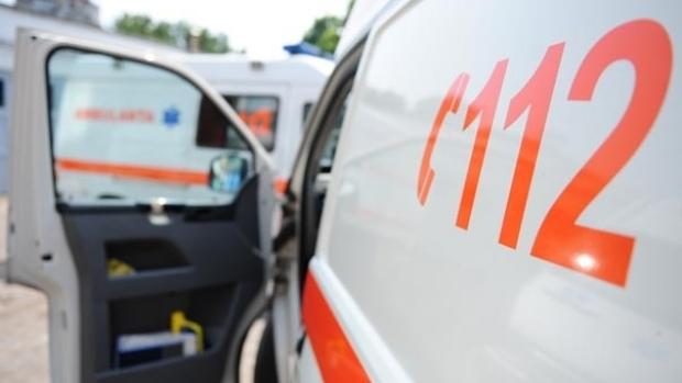 Foto: Accident rutier pe strada Dumitru Marinescu. Circulația rutieră este blocată