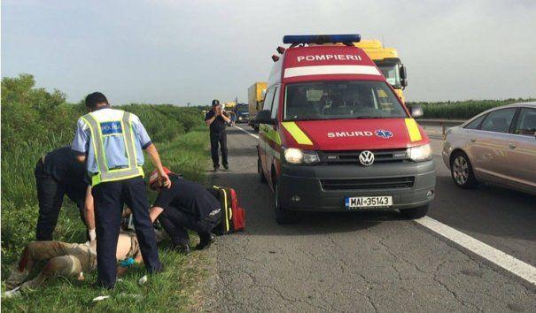 Foto: ACCIDENT RUTIER GRAV în Constanţa. CINCI VICTIME