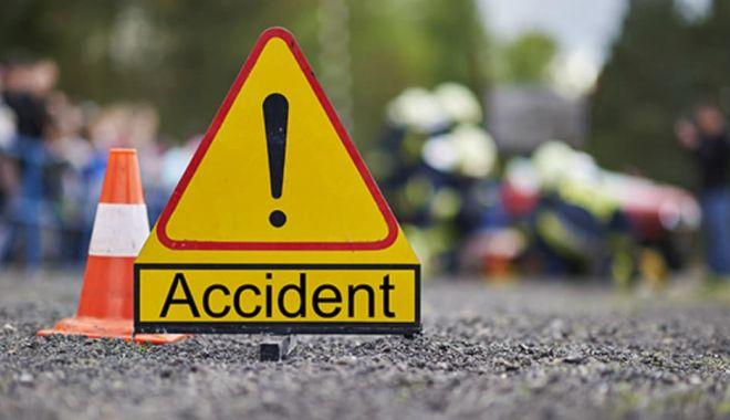 Foto: Accident rutier pe strada Baba Novac. O persoană a fost rănită