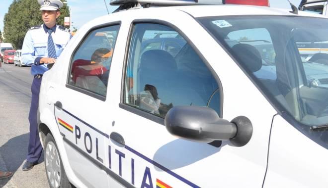 Foto: Cum a fost sanc�ionat �oferul care a lovit ma�ina Poli�iei Rutiere