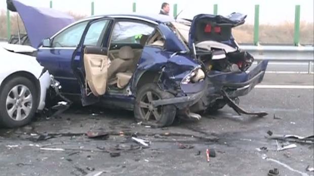 Foto: Tragedia de pe Autostrada Soarelui / Ultimele informaţii despre răniţii în accident