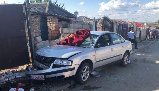 Foto: Grav accident rutier, soldat cu 6 victime. Șoferul - minor - a fugit de la locul accidentului! E scandal!