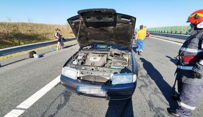 ACCIDENT GRAV, pe Autostrada Soarelui, spre litoral! 9 victime au ajuns la spital! - accidenta21-1594276219.jpg