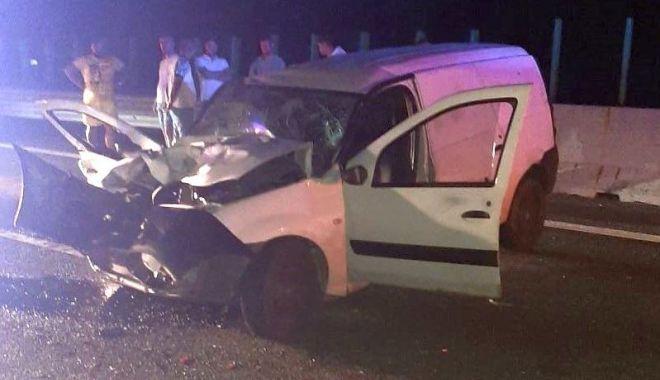 Accident pe Autostrada Soarelui, provocat de un șofer PRAF DE BEAT - accidenta2sursaipjconstanta-1591859048.jpg