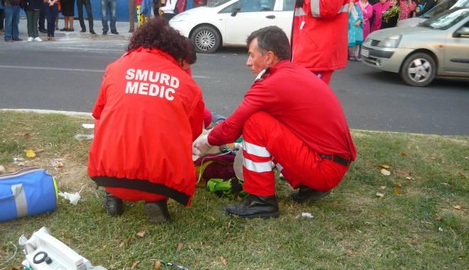 Foto: DOUĂ ACCIDENTE în Constanţa, la diferenţă de câteva minute. Două victime