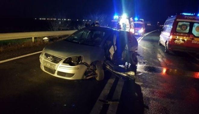 Foto: Accident cumplit! Opt victime, între care doi copii