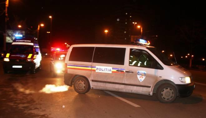 Foto: Accident soldat cu patru victime, în Constanţa