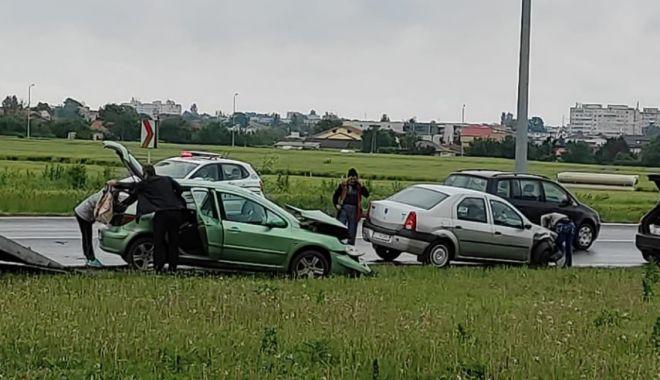 ACCIDENT în sensul giratoriu de la Cumpăna - accidentcumpana-1622709032.jpg