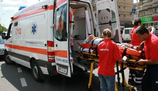 Foto: Accident grav în Constanţa. Pieton spulberat pe trecere