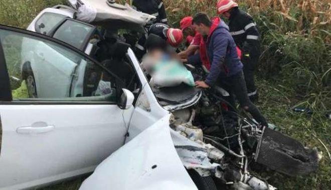 Foto: ATENŢIE, IMAGINI CU PUTERNIC IMPACT EMOŢIONAL! Accidentul cu 4 morți, surprins de o cameră de bord