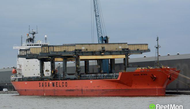 Foto: Accident naval la acostarea în portul Ostermoor