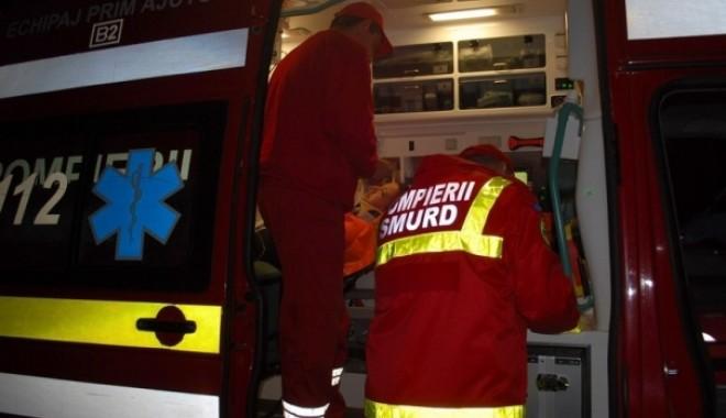Foto: Accident rutier la Constanța, din cauza unui șofer imprudent!