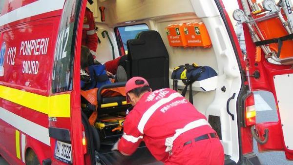 Foto: Accident la 2 Mai. Un șofer a pierdut controlul volanului <br>