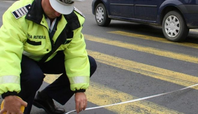 Foto: POLIŢIA, ÎN ALERTĂ! Şofer care a ucis un pieton, pe trecere, de negăsit!