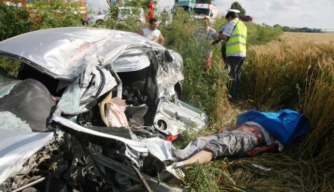Foto: Accidente rutiere teribile în judeţul Constanţa