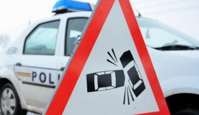 Foto: Accident rutier în zona Abator din Constanţa
