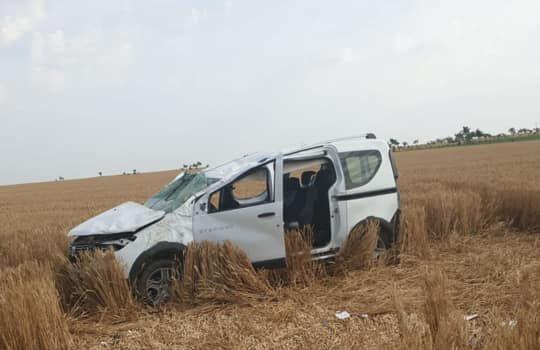 Accident rutier grav, în Constanţa. Maşină răsturnată, patru răniţi! - accmovilita-1561011627.jpg