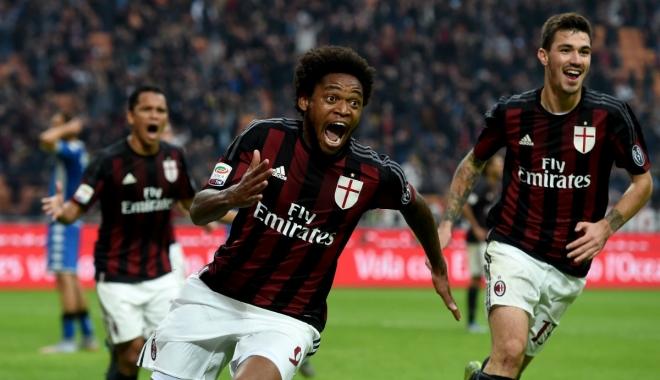 Foto: FOTBAL / AC MILAN a învins Juventus Torino şi A CÂȘTIGAT Supercupa Italiei