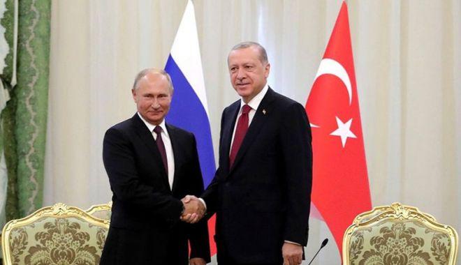 Foto: Acord ruso-turc privind crearea  unei zone demilitarizate la Idlib