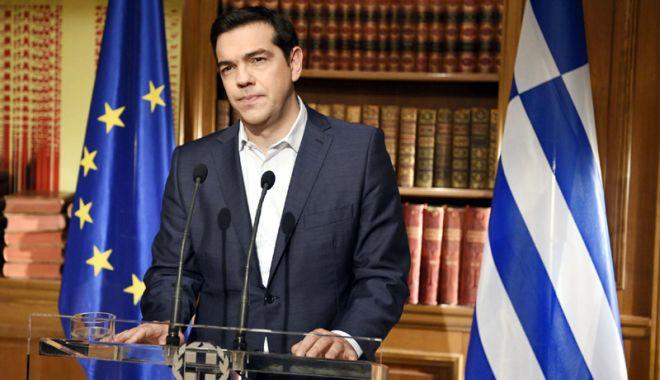 Foto: Acord istoric între Atena și Skopje privind numele Macedoniei