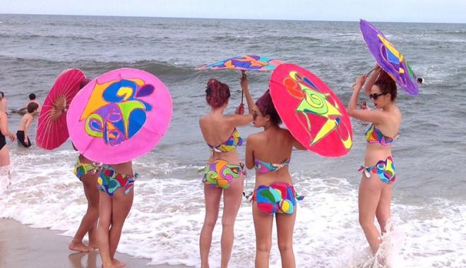 """Foto: Activităţi estivale,  organizate de DJST Constanţa.  """"Petrece, Vara la Mare!"""""""