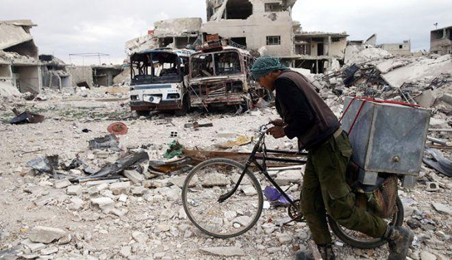 Foto: Acuzaţii privind un atac chimic în Siria. Moscova avertizează Washingtonul