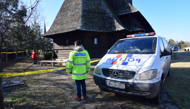 Foto: Acuzaţii grave. Cine a vrut să dea foc Bisericii Sf. Mina?