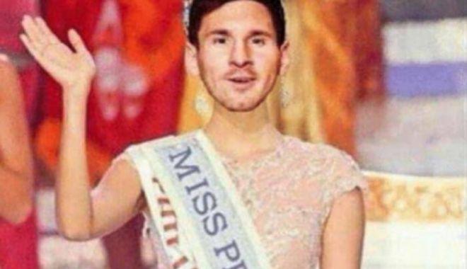 Foto: Messi nu a scăpat! Cea mai tare glumă apărută pe internet după ce a ratat penalty-ul cu Islanda
