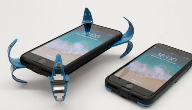 """Foto: INVENŢIA care ne va salva telefoanele! Carcasa de smartphone cu """"airbag"""" este realitate"""
