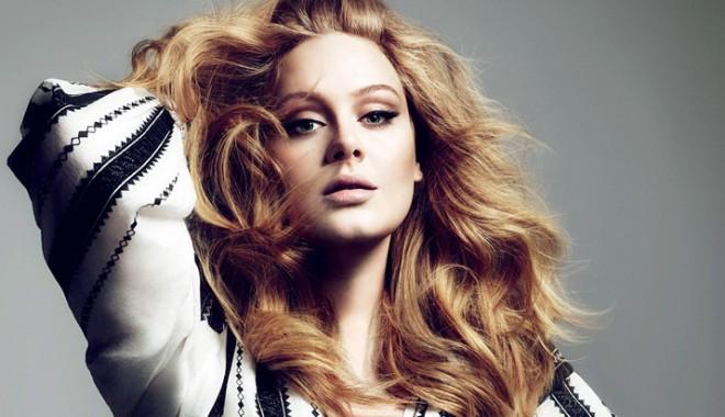 Foto: Adele - cel mai popular artist  din Marea Britanie