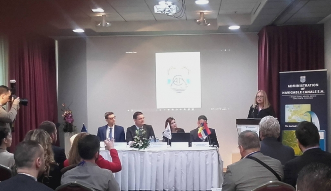 Foto: Administraţia Canalelor Navigabile a organizat un eveniment în Serbia