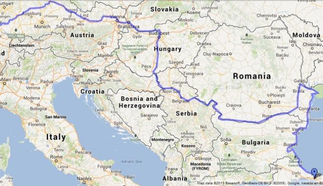 Foto: Administraţia Canalelor Navigabile participă la proiectul Danube Stream