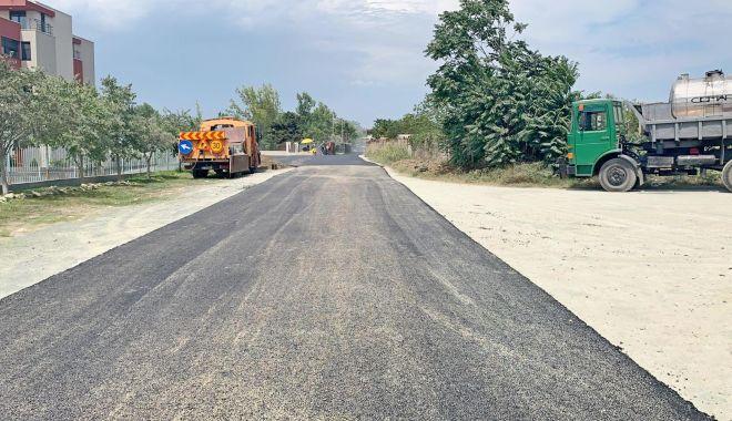Foto: Administrația locală a modernizat strada Ametistului din cartierul Tomis Nord
