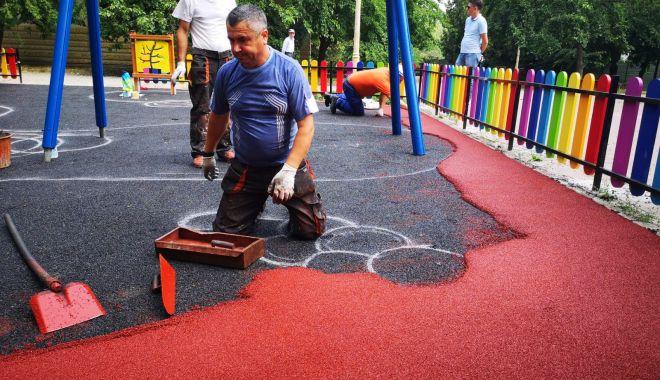Foto: Noi locuri de joacă pentru copii, la Casa de Cultură din Constanța