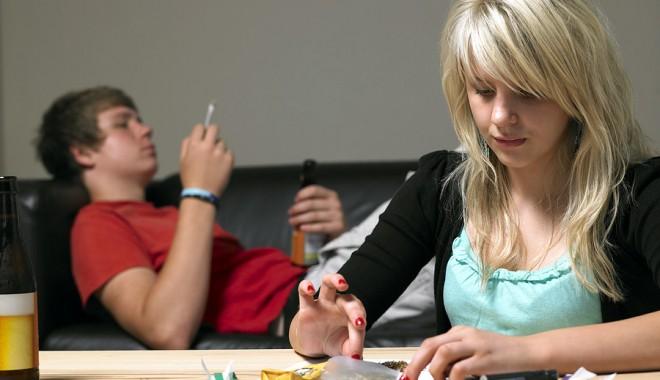 """Foto: """"Marijuana - un drog periculos!"""" în şcolile din Constanţa"""