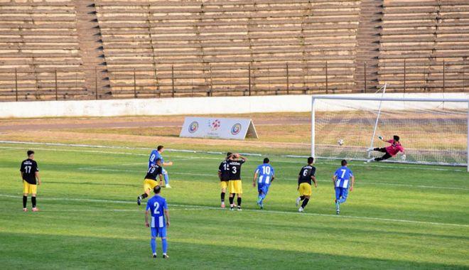 Foto: Al doilea succes pentru  CS Medgidia, în Liga a lll-a