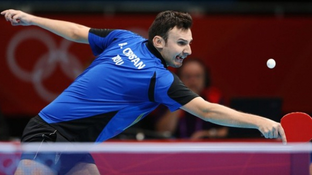 Foto: Jocurile Olimpice 2012: Adrian Cri�an a fost eliminat �n sferturile probei de simplu la tenis de mas�